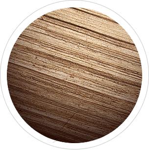 strona wewnętrzna drewniana