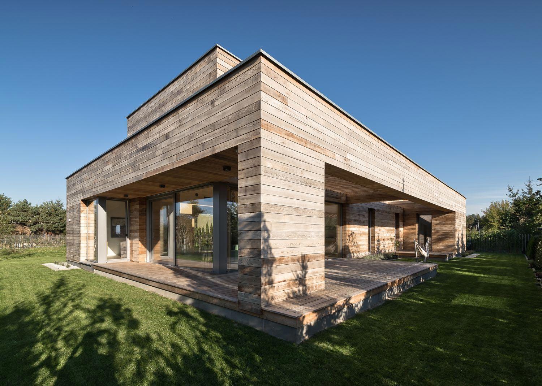 Cedrowy dom – Realizacja roku 2016