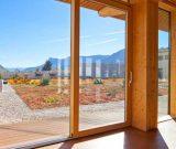 Balkonowe okna drewniane