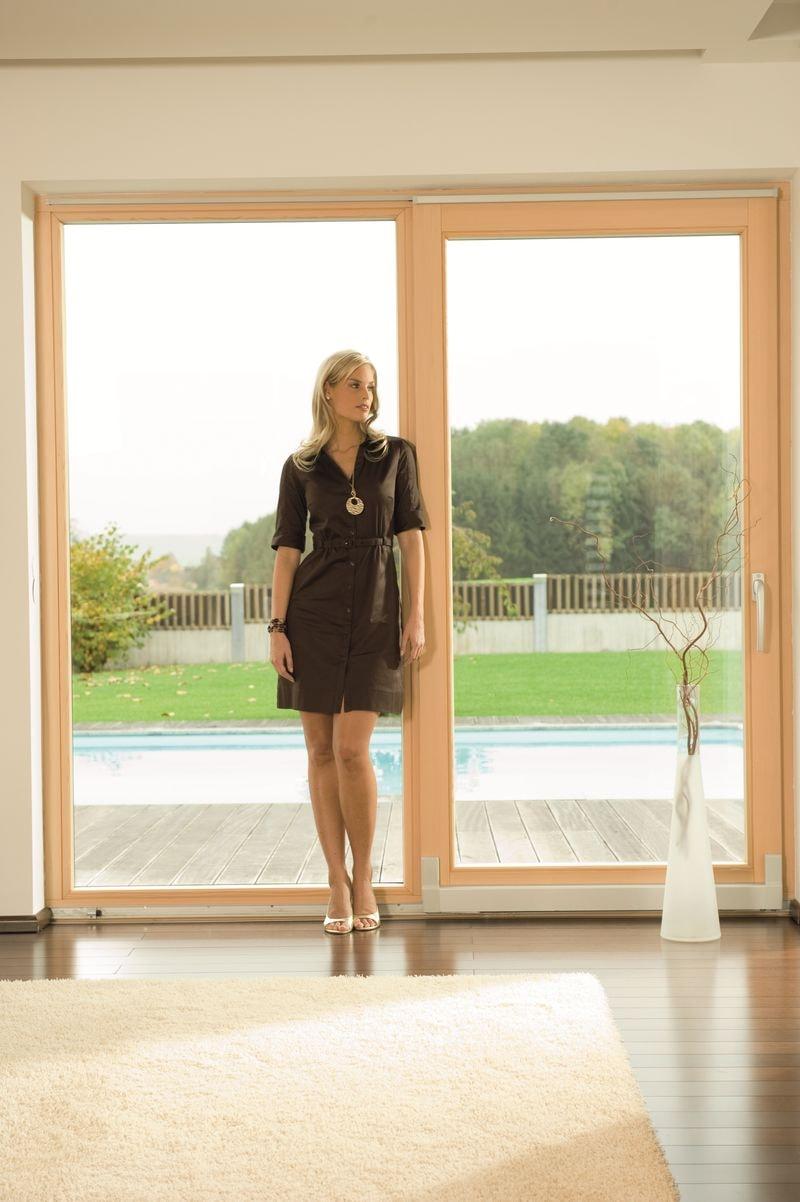 Okna drewniane – przekroje profili